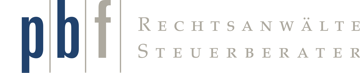 pbf | Rechtsanwälte & Steuerberater Frankfurt Logo